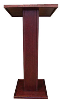 Podium PS2100 Natural Oak Finish