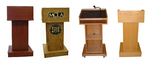 Pro_Series_1000_I_Style_Lectern_or_Podium_group_Cherry_Dark_Oak_Natural_Oak