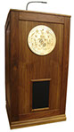 ps_1200_podium_walnut_wood_and_plaque_sound system